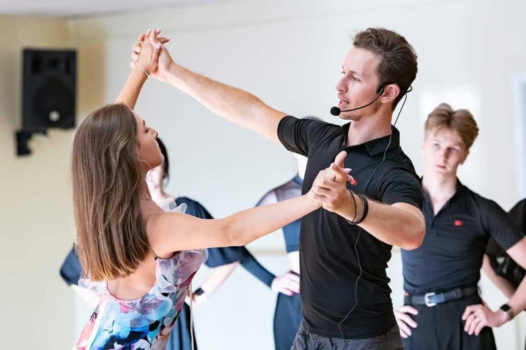 Tanztraining - Trainer & Schüler